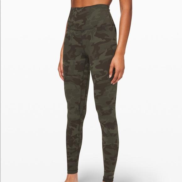 Lululemon Athletica Pants Jumpsuits Align Lululemon Camo Legging Poshmark